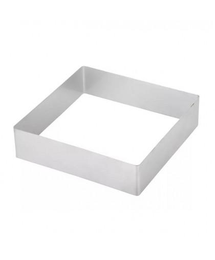 Форма для выкладки и выпечки h=5 см, d=16×16 см квадрат