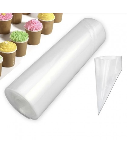 Набор одноразовых кондитерских мешков 30х20 см, 50 шт