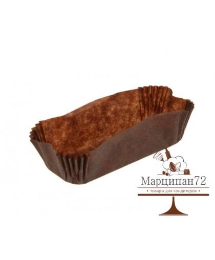 Тарталетки овал коричневая 34х136х26,5 мм 30 шт