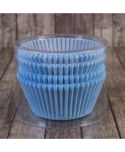 Капсулы бумажные голубые  50 х 30 мм 20 шт