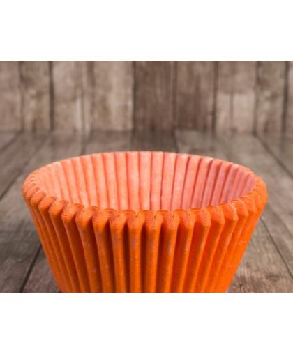 Капсулы бумажные оранжевые  50 х 30 мм 25 шт