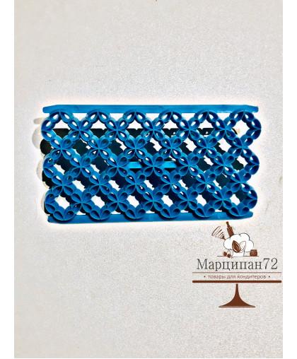 """Печать для марципана и теста """"Четырехлистник""""."""