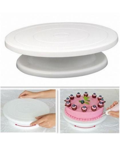 Подставка для торта вращающаяся 28х9 см.