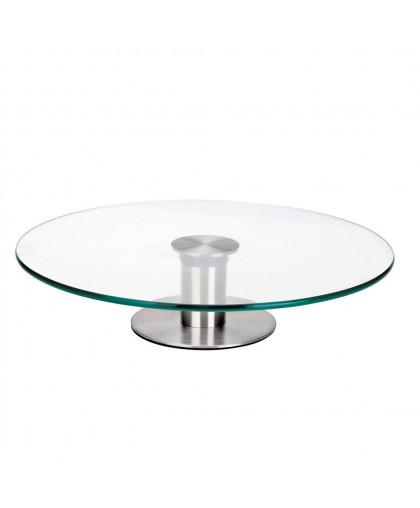Стол поворотный стеклянный 32 см х 8 см