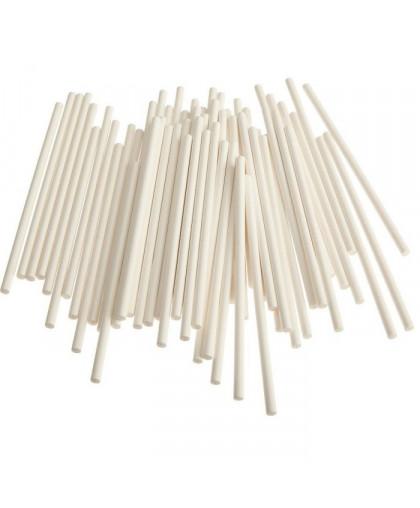 Набор палочек для кейкпопсов 50 шт пластик 15 см