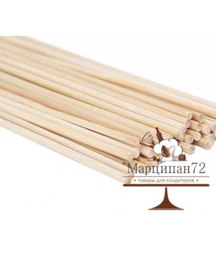 Набор палочек-дюбелей для кондитерских изделий 30 см, 20 шт.