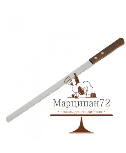 Нож для бисквита 22 см.