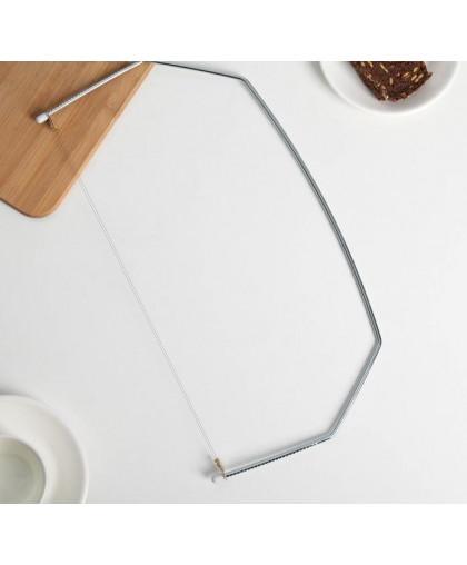 Струна для нарезки бисквита, 41×20 см