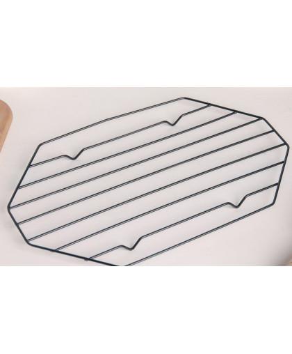 """Решетка для глазирования и остывания кондитерских изделий """"Октаэдр"""" 25x15x1,8 см"""