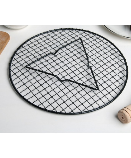 """Решетка для глазирования и остывания кондитерских изделий """"Круг"""" 29x2,1 см"""