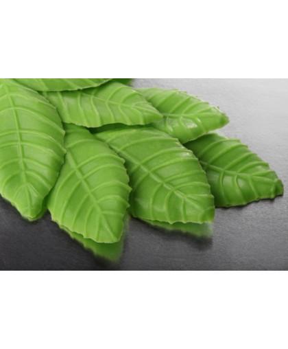 Глазурь кондитерская Листик зеленый 50 гр 10 шт