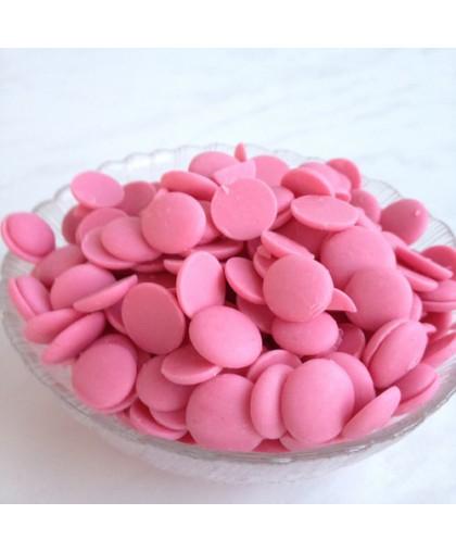 Глазурь кондитерская Розовая – клубничная (со вкусом клубники) 100 гр