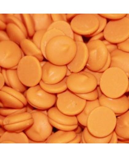 Глазурь кондитерская Оранжевая – апельсиновая (со вкусом апельсина) 1 кг