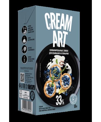 Комбинированные сливки Creamart 33%
