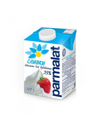 Сливки Parmalat для взбивания ультрапастеризованные 35 % 500 мл