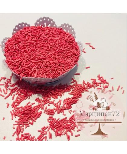 Посыпка  вермишель розовая 60 гр