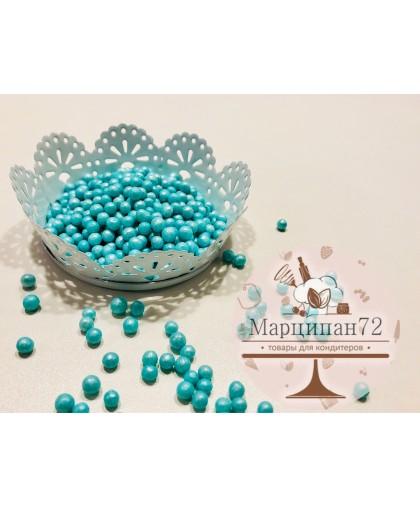 Посыпка  жемчуг голубой 40 гр