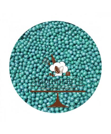 Посыпка жемчуг бирюзовый, 700 гр.