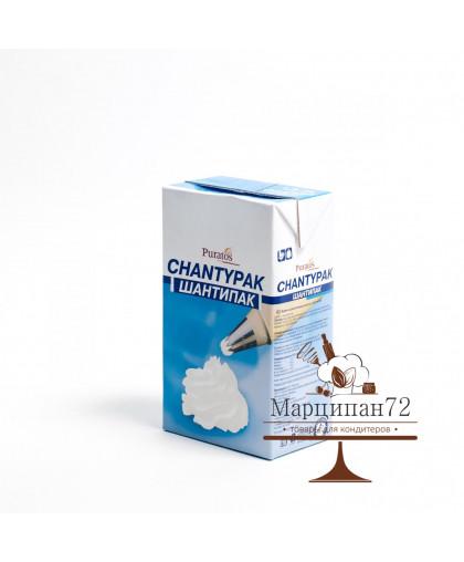 Сливки растительные 26-28% кондитерские сладкие Шантипак 1л (КРЕМ)