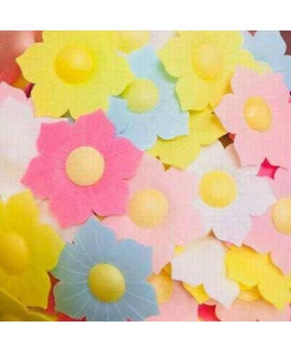 Вафельные декоративный украшения Цветочки Нарциссы 10 шт