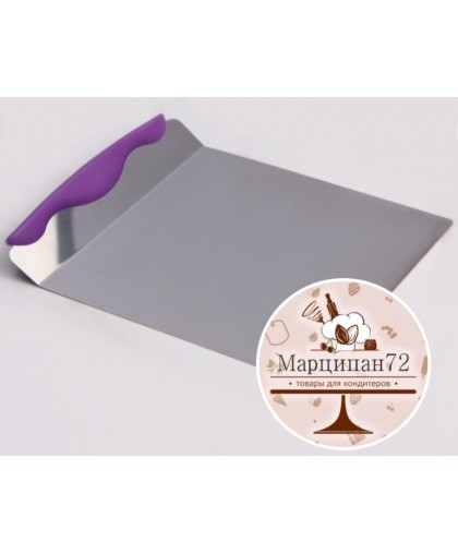 Шпатель кондитерский для торта 24x20,5x3 см.
