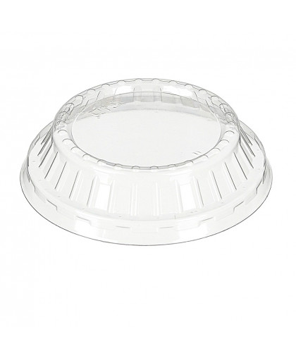 Одноразовая пластиковая крышка для креманки Кристалл 200 мл