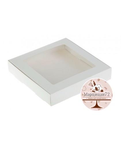 Коробка самосборная бесклеевая, 15 х 15 х 4 см .