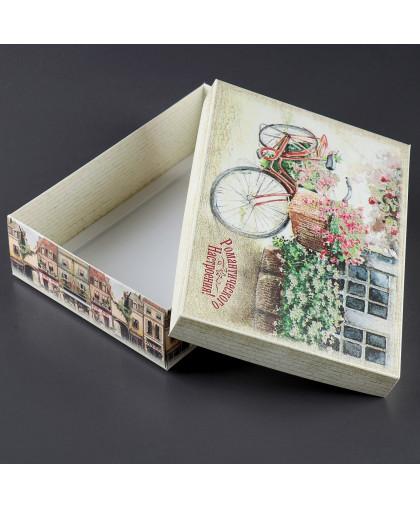 """Подарочная коробка сборная """"Романтического настроения"""", 21 х 15 х 5,5 см"""