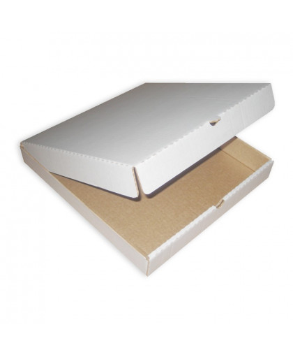 Кондитерская упаковка, короб, белый 32 х 32 х 4,5 см