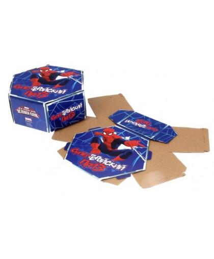 """Коробка подарочная складная """"Супергеройский приз"""", Человек-Паук"""