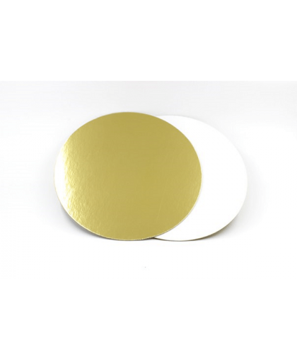 Подложка 22 см золото-жемчуг толщина 1,5 мм