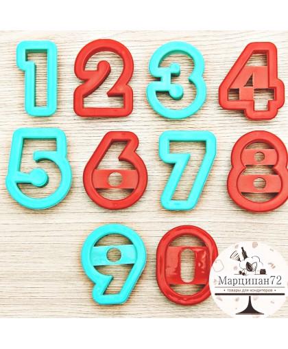 """Набор форм для вырезания печенья 10 шт """"Цифры"""""""