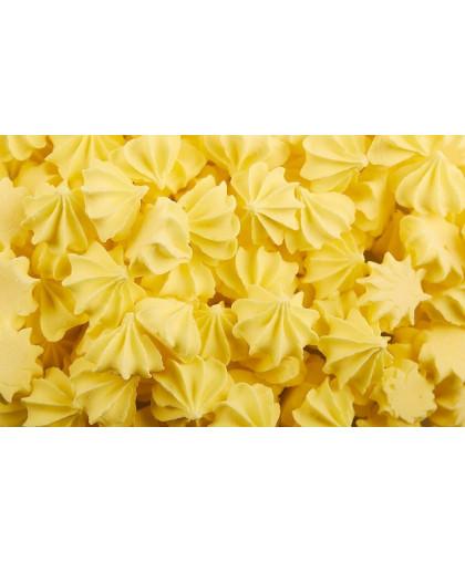 Сахарные фигурки Мини-безе 50+/-5 г, желтые